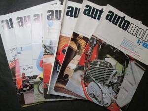 náhled knihy - Automobil 1, 3, 4, 5, 6, 8, 9, 10, 11, 12/82, ročník XXVI