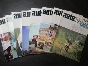 náhled knihy - Automobil 1, 2, 3, 6, 7, 8, 9, 10/83, Ročník XXVII