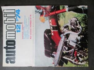 náhled knihy - Automobil 12/74 ročník XVIII