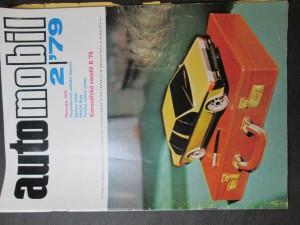 náhled knihy - Automobil 2/79, Ročník XXIII