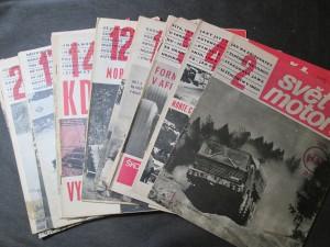 náhled knihy - Svět motorů Ročník XXI, 1967, č. 2, 4,  5, 7, 8, 10 - 12, 14- 21, 24