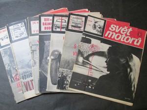 náhled knihy - Svět motorů Ročník XX, 1966, č. 5, 11 - 15, 18 - 22, 24