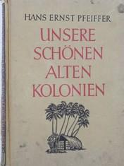 náhled knihy - Unsere schönen alten Kolonien