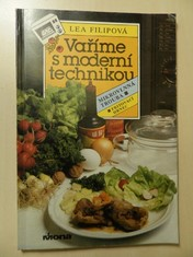 náhled knihy - Vaříme s moderní technikou : mikrovlnná trouba : fritovací hrnec