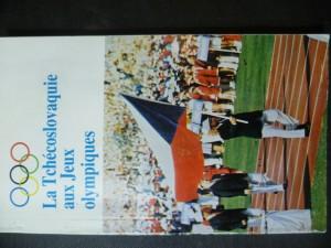 náhled knihy - La Tchécoslovaquie aux Jeux olympiques
