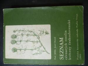 náhled knihy - Seznam cévnatých rostlin květeny československé