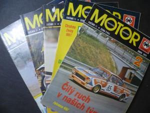 náhled knihy - Motor - motoristická současnost - za volantem (roč. 11, č. 2, 3, 5, 8, 11)