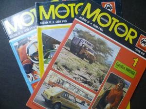 náhled knihy - Motor - motoristická současnost - za volantem (roč. 10, č. 1, 2, 6)