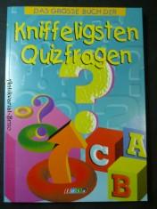 náhled knihy - Das grosse Buch der kniffeligsten Quizfragen