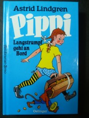 náhled knihy - Pippi Goes on Board