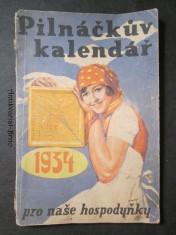 náhled knihy - Pilnáčkův kalendář pro naše hospodyňky