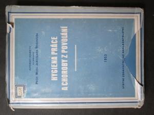 náhled knihy - Hygiena práce a choroby z povolání : Pro studující lékařství : Sborník