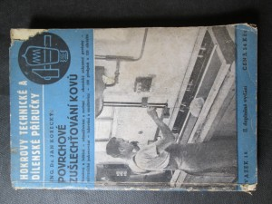 náhled knihy - Povrchové zušlechťování kovů. II. Doplněné vydání