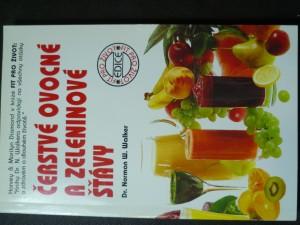 náhled knihy - Čerstvé ovoce a zeleninové šťávy