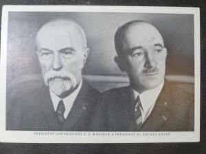 náhled knihy - Prezident - osvoboditel T. G. Masaryk a prezident Dr. Edvard Beneš