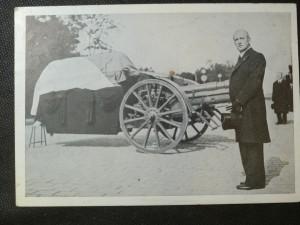 náhled knihy - President Dr. Ed. Beneš u rakve presidenta-Osvoboditele u Wilsonova nádraží