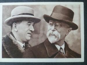 náhled knihy - President Osvoboditel a president Dr. Edvard Beneš