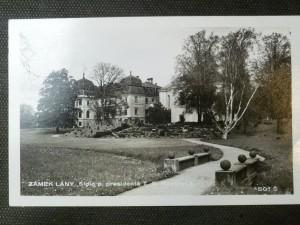 náhled knihy - Zámek Lány. Sídlo p. presidenta T.G. Masaryka