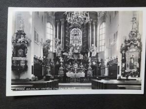 náhled knihy - Stará Boleslav: vnitřek chrámu P. Marie