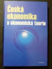 náhled knihy - Česká ekonomika a ekonomická teorie