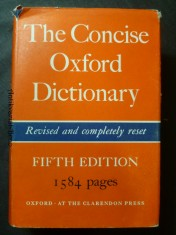 náhled knihy - The Concise Oxford Dictionary