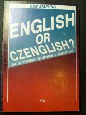 náhled knihy - English or Czenglish? Jak se vyhnout čechismům v angličtině?