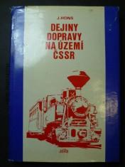 náhled knihy - Dejiny dopravy na území ČSSR