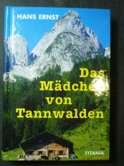 náhled knihy - Das Mädchen von Tannwalden