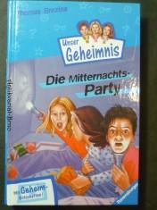 náhled knihy - Pssst, Unser Geheimnis, Bd.1, Die Mitternachtsparty