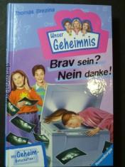 náhled knihy - Pssst, Unser Geheimnis, Bd.6, Brav sein? Nein danke!
