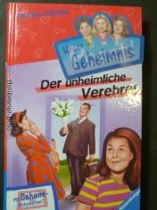 náhled knihy - Pssst, Unser Geheimnis, Bd.2, Der unheimliche Verehrer