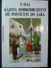 náhled knihy - Kájova dobrodružství od posvícení do jara