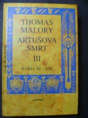 náhled knihy - Artušova smrt III./ kniha XI - XXI