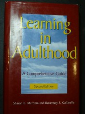 náhled knihy - Learning in Adulthood: A Comprehensive Guide Second Edition