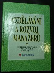 náhled knihy - Vzdělávání a rozvoj manažerů