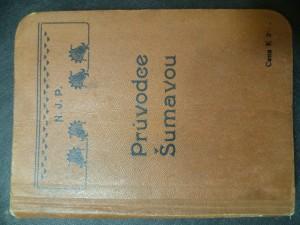 náhled knihy - Průvodce Šumavou