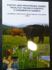 náhled knihy - Pastva jako prostředek údržby trvalých travních porostů v chráněných územích
