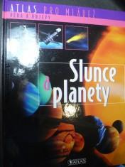 náhled knihy - Atlas pro mládež - Slunce a planety