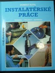 náhled knihy - Instalatérské práce (Domáci kutil) -  Technika - projekty - materiály