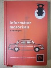 náhled knihy - Informátor motoristu s automapou