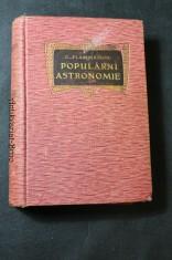 náhled knihy - Populární astronomie, všeobecný popis těles, díl I.