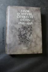 náhled knihy - Spor o smysl českých dějin