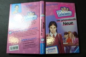 náhled knihy - Unser Geheimnis, Die geheimnisvolle Neue