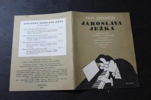 náhled knihy - Pátý zpěvníček Jaroslava Ježka