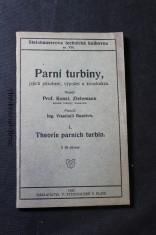 náhled knihy - Parní turbiny, jejich působení, výpočet a konstrukce. I, Theorie parních turbin