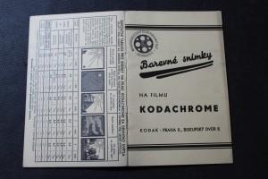 náhled knihy - Barevné snímky na filmu kodachrome