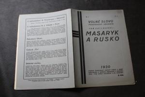 náhled knihy - Masaryk a Rusko