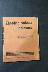 náhled knihy - Záhady a podstata radiofonie : snadno pochopitelný výklad tajů těžko pochopitelných