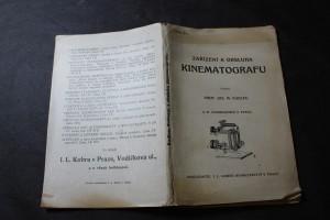 náhled knihy - Zařízení a obsluha kinematografu