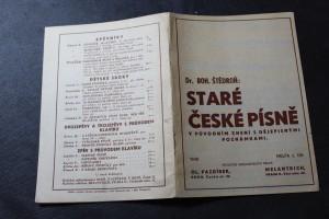 náhled knihy - Staré české písně v původním znění s dějepisnými poznámkami